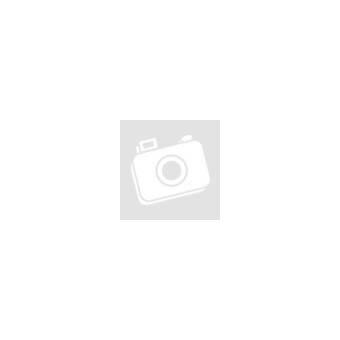 Nemesacél gyűrű, fekete csíkokkal